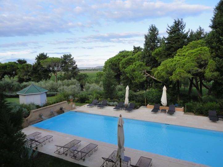A piscina do L'Andana
