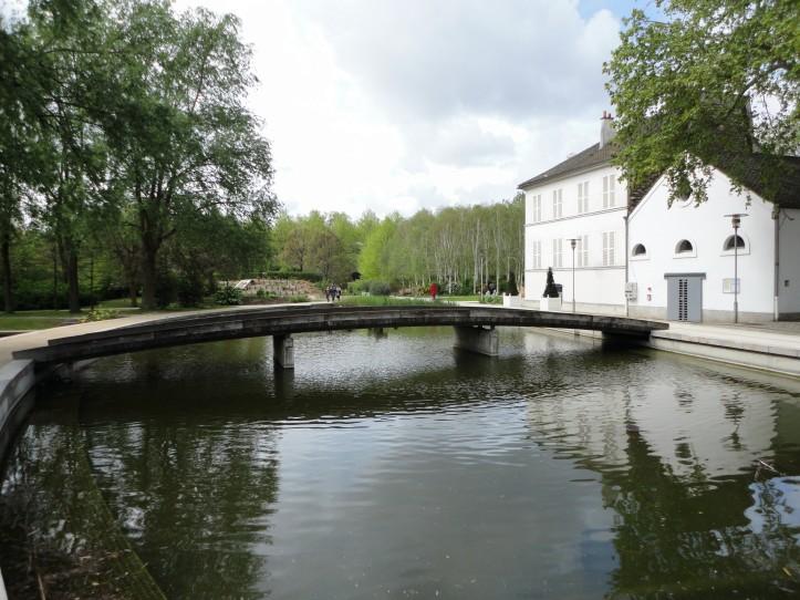 Jardim Romântico, no Parc de Bercy