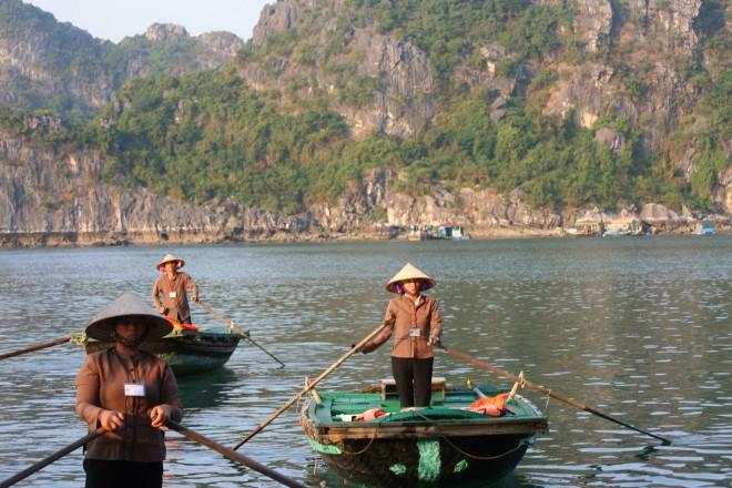 Baía de Halong, no Vietnã