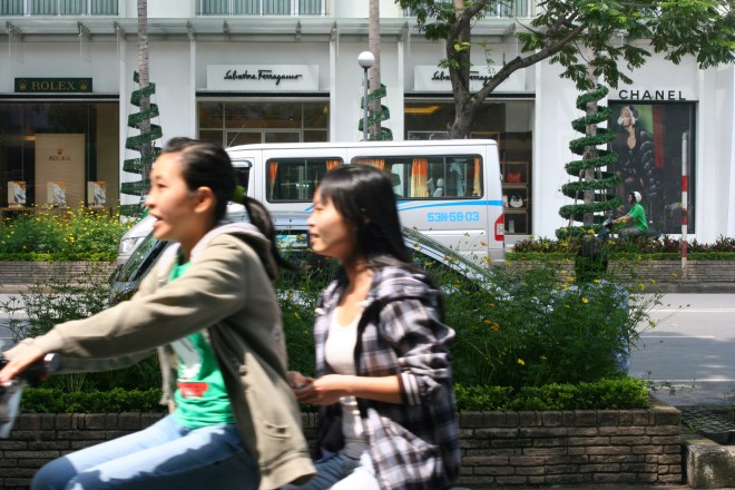 Le Loi Saigon Ho Chi Minh City Vietnã