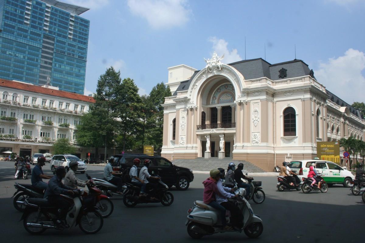 História e boas compras na cosmopolita Cidade de Ho Chi Minh