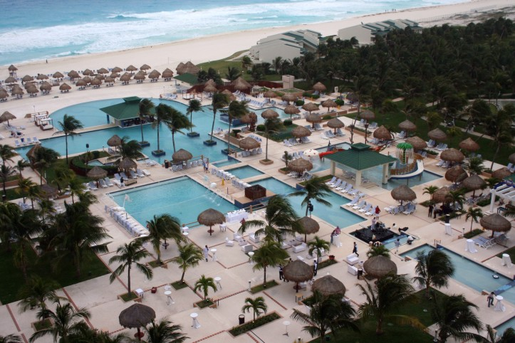 Piscinas do Iberostar Cancún