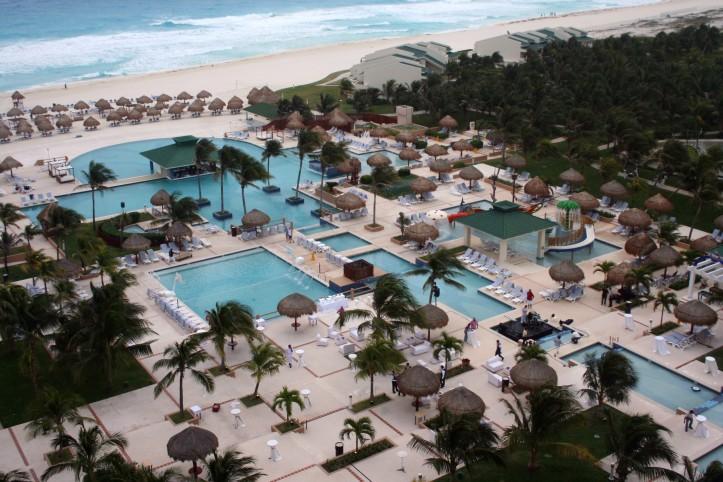 Piscinas do Iberostar Cancún