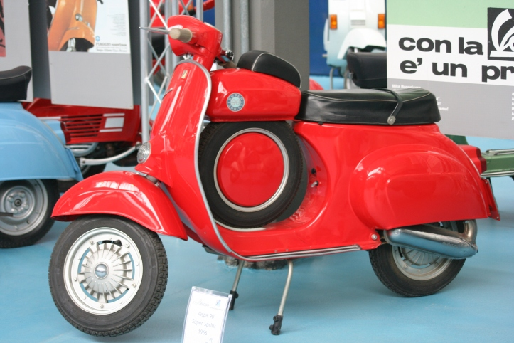 Vespa Super Sprint 90, de 1966