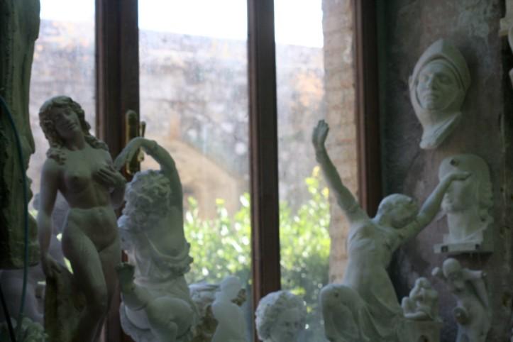 Alab'Art, um dos ateliês de alabastro em Volterra