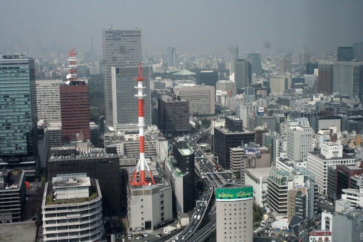 Uma das vistas do MO Tokyo