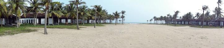 O Mar do Sul da China encontra as areias do Nam Hai