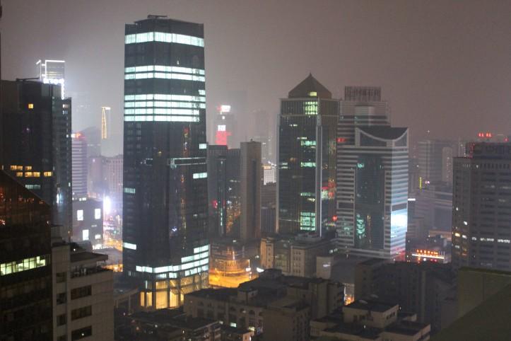Chengdu vista de um dos quartos do novo Ritz-Carlton