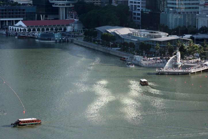 O Rio Cingapura encontra Marina Bay