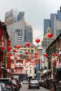 Os contrastes de Chinatown