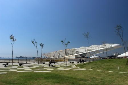O novo Museu do Amanhã, na Praça Mauá, Região Portuária do Rio