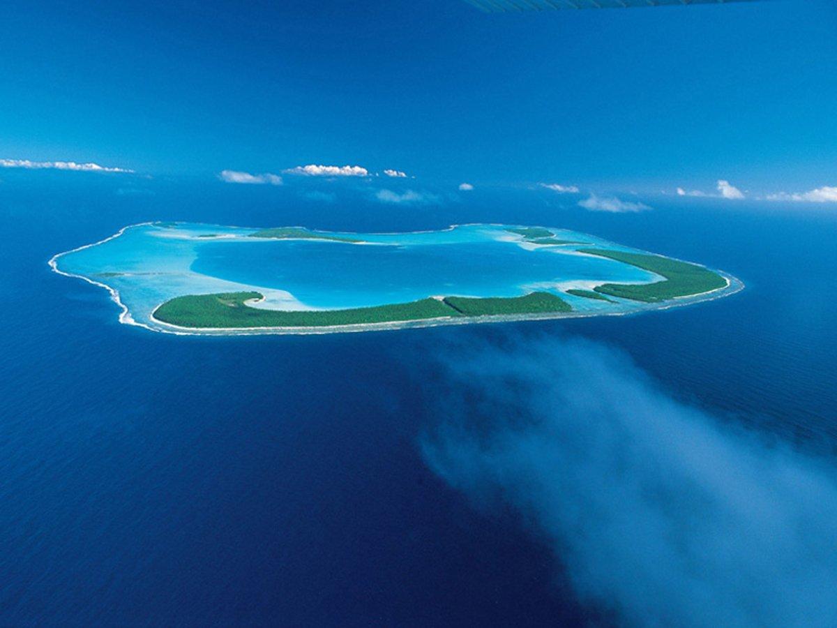 A ilha do poderoso chefão na Polinésia
