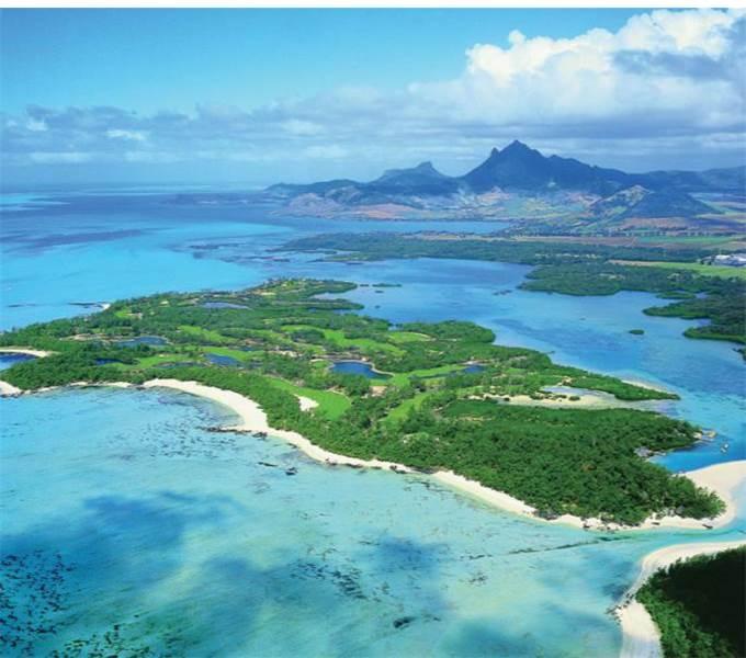 Vista aérea do campo de golfe / Foto de divulgação