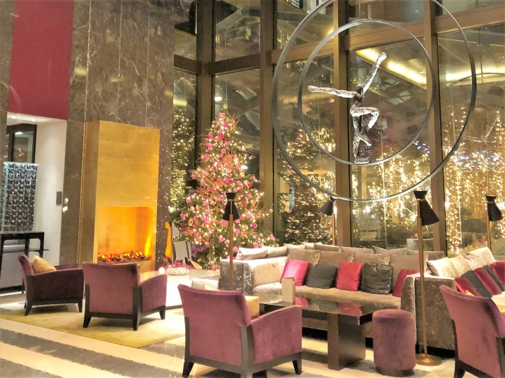 Lobby do Mandarin Oriental Paris