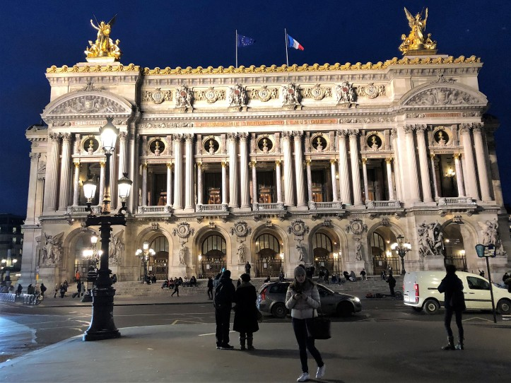 Fachada Ópera Garnier Paris