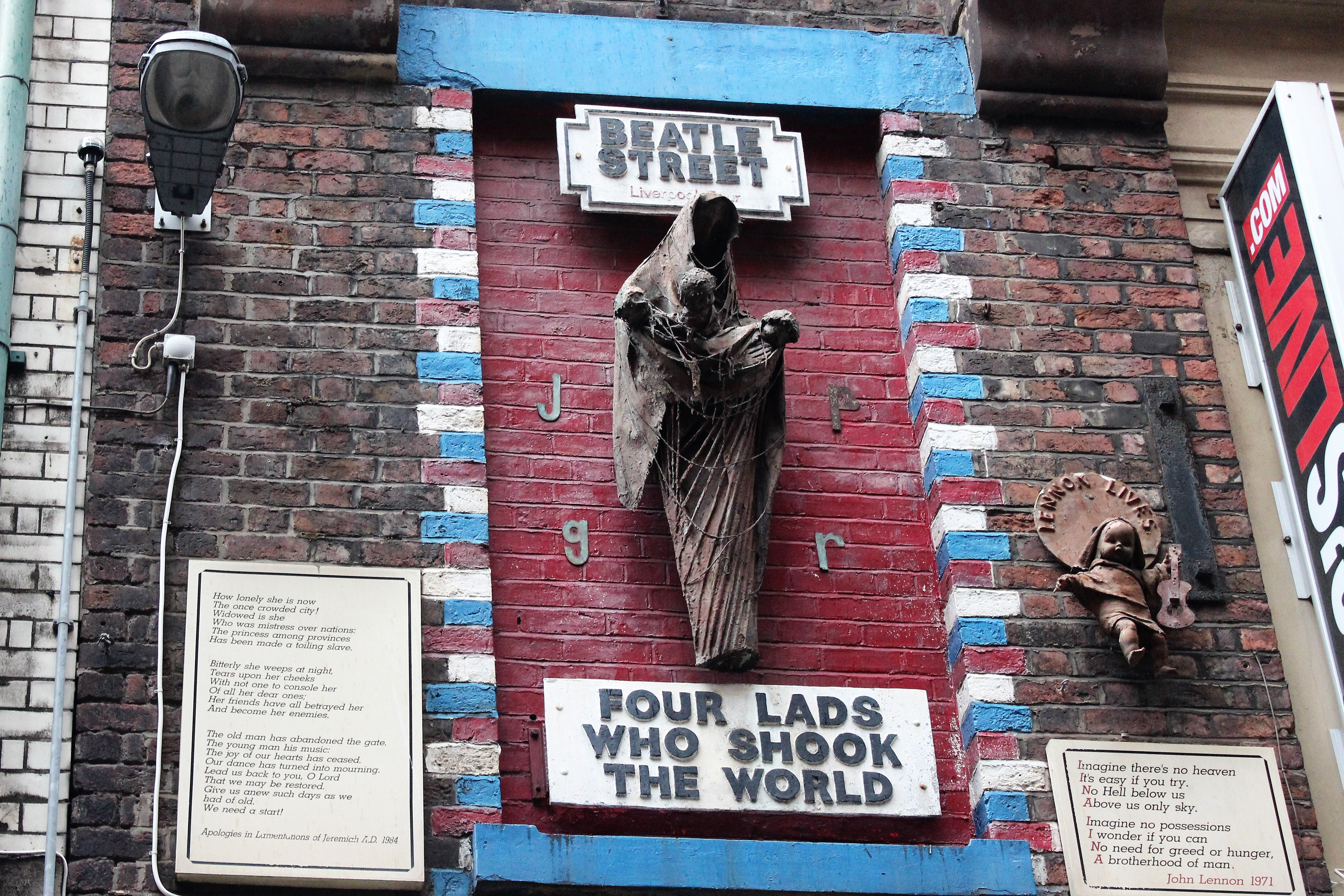 Four Lads who Shook the World Liverpool